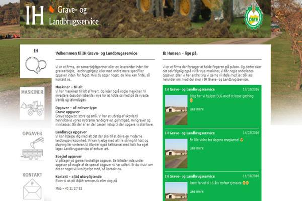 บริษัท IH Grave-og ให้บริการด้านการเกษตร